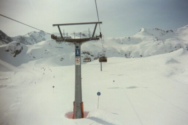 main chairlift, Kaunertal