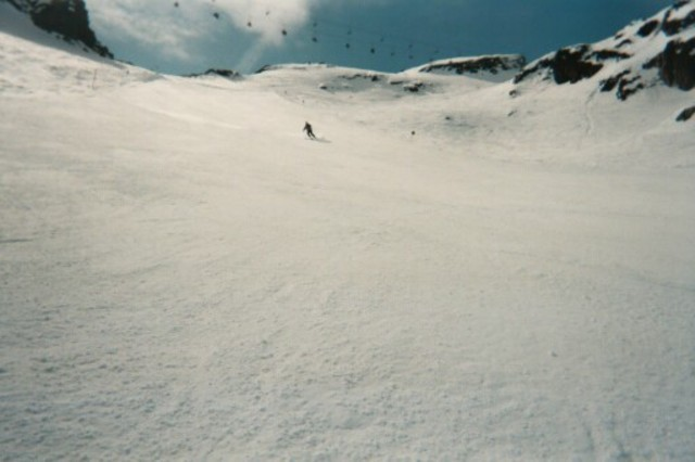 Coming down the slope, Kaunertal