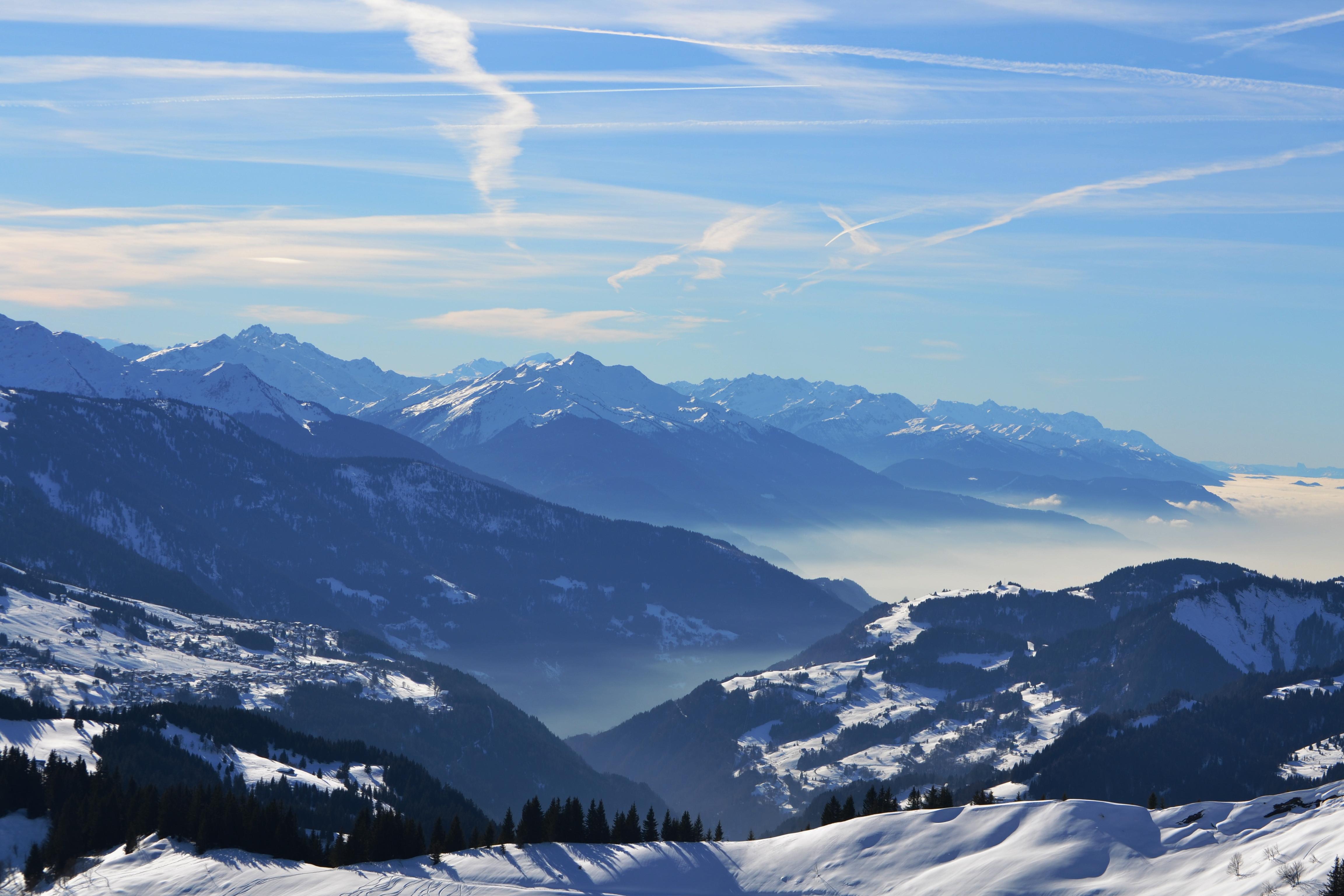 View from Le Torraz, Combloux