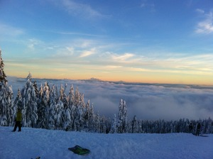 Heaven, Mount Seymour photo