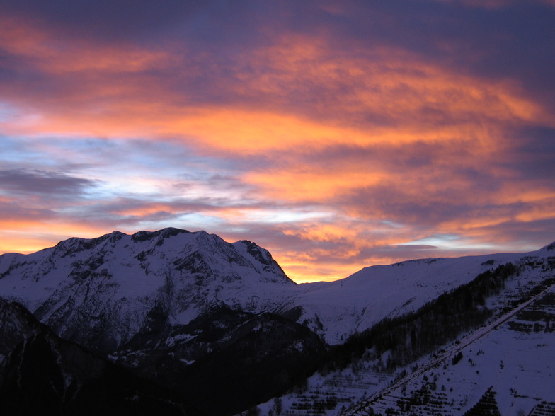 Ad'H Evening View, Alpe d'Huez