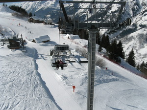 Chairllift from Villard Reculas, Villard-Reculas photo