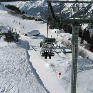 Chairllift from Villard Reculas, Villard-Reculas