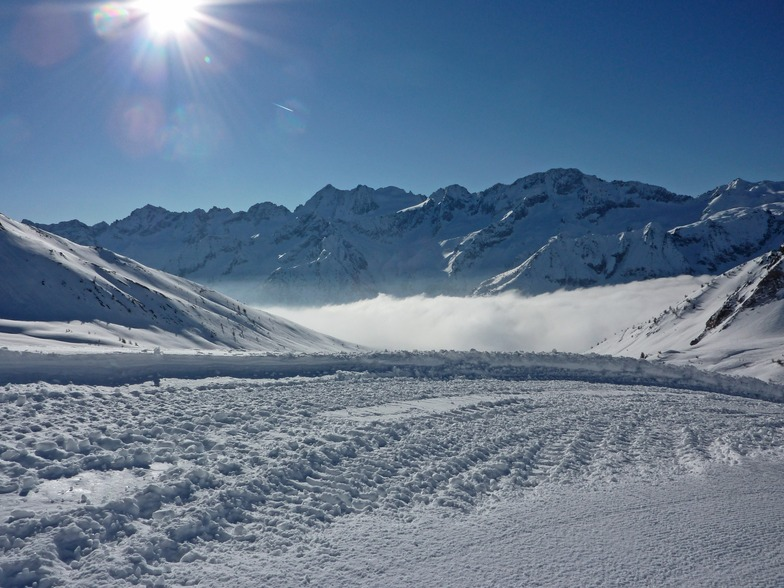 Early morning at tonale, Passo Tonale