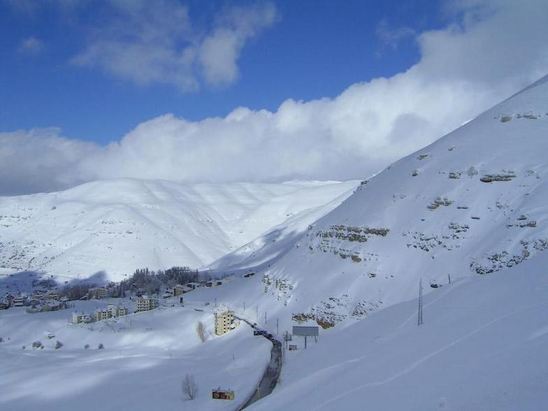 Faraya-mzaar,lebanon, Mzaar Ski Resort