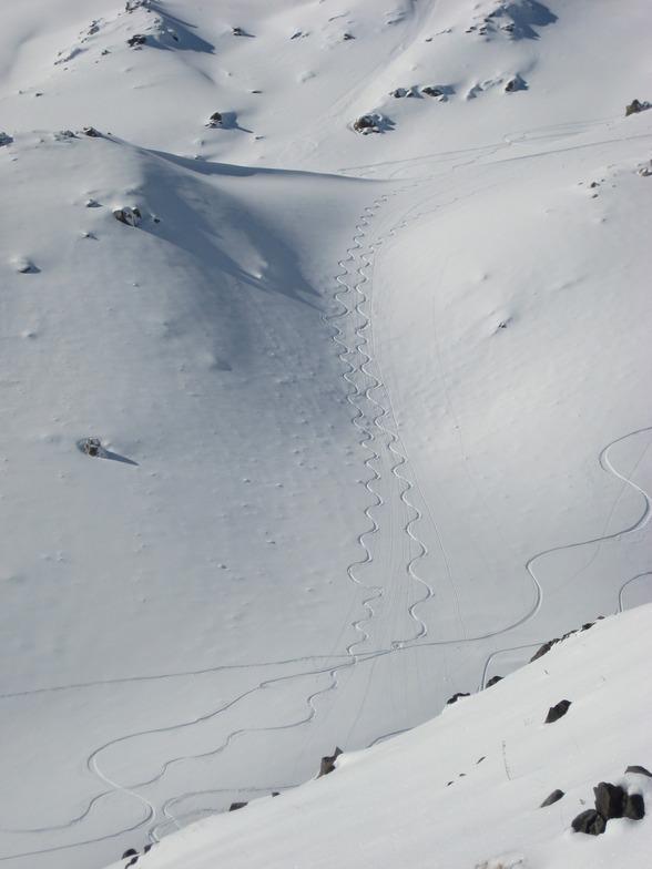 Tarik Darreh snow