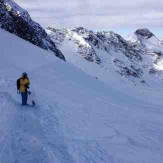 Stubai pow pow, Stubai Glacier