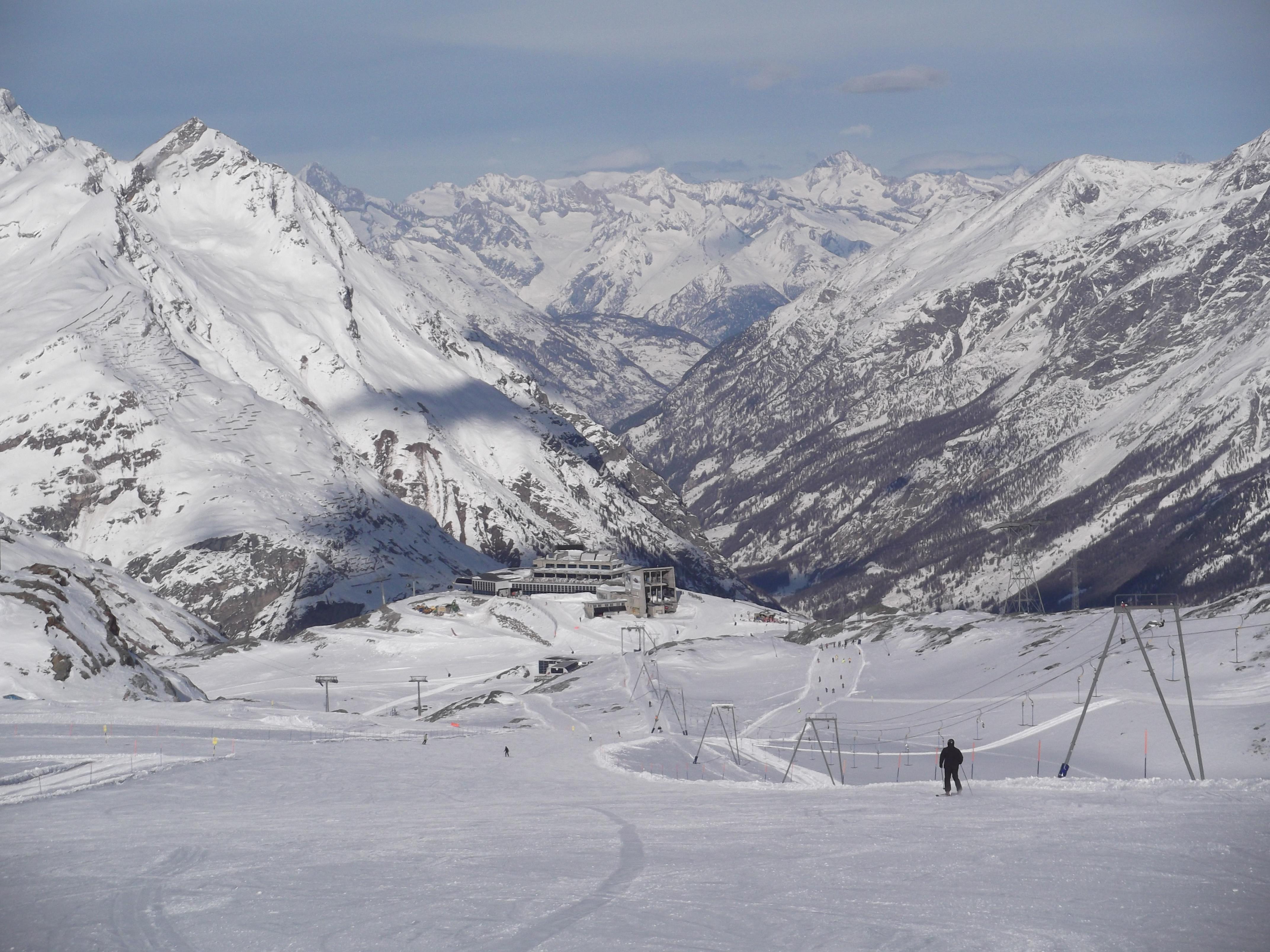 Trockener Steg and beyond., Zermatt