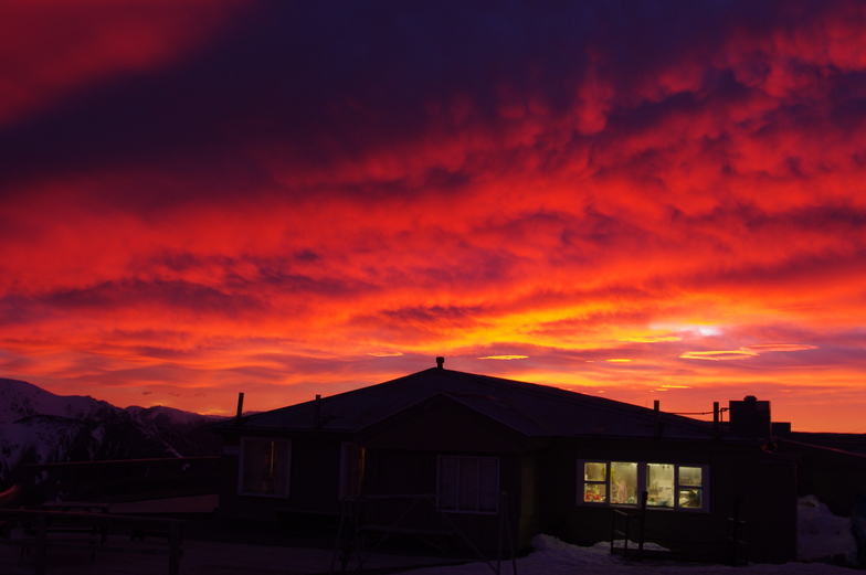 Sunrise at Mt Cheeseman, Mount Cheeseman