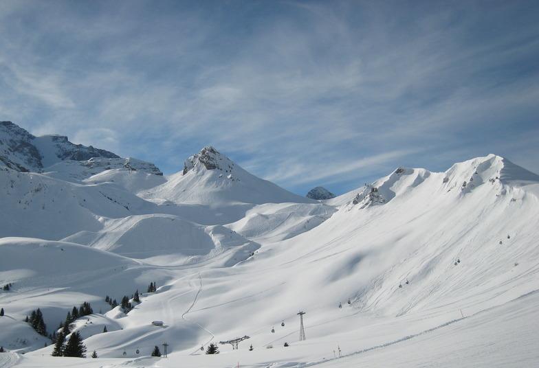 Adelboden snow