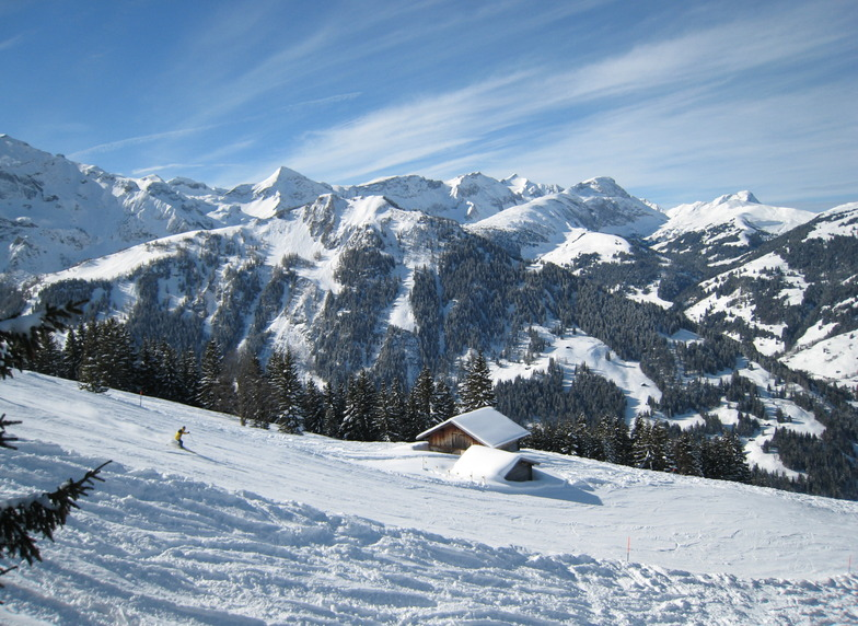 the Southern Alps on a great day!, Adelboden