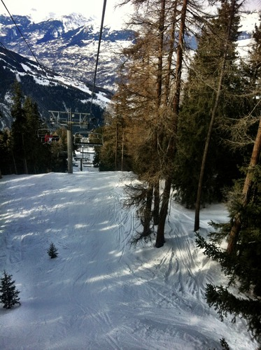 Peisey/Vallandry Ski Resort by: Claudia Armond