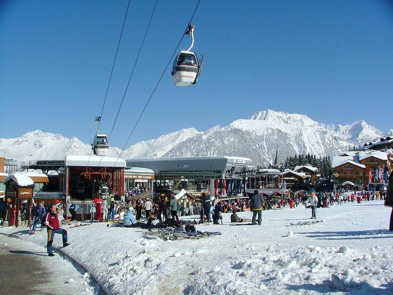 Main Lifts at Courchevel 1850