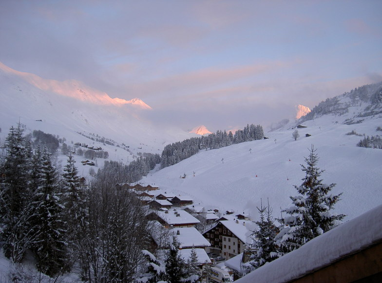 End of Day in Le Chinaillon, Le Grand Bornand