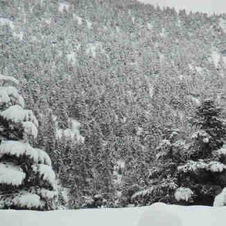 18 Ιανουαρίου 2013. Πριν το χιονοδρομικό., Mainalo