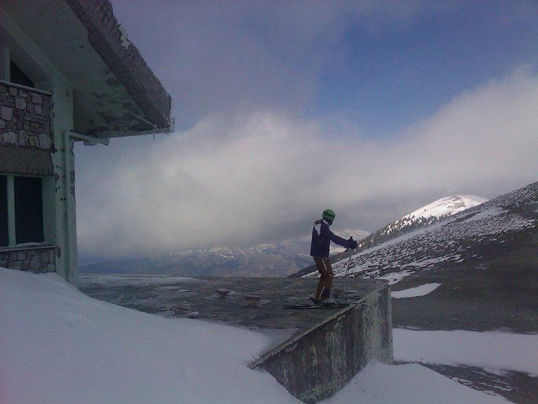 Dimitrios Panagiotou Kosmopoulos at ''Katafygion'' Kalavrita Ski-Center !!!, Kalavryta Ski Resort