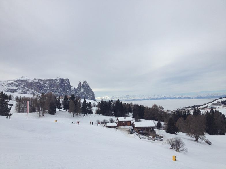 Ortisei snow