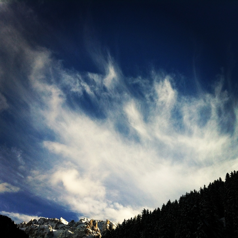 Crazy sky, Val Gardena