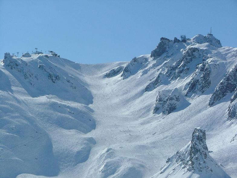 Top of Courchevel 1850