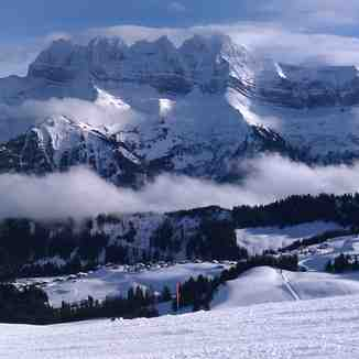 Dent du Midi and Champoussin