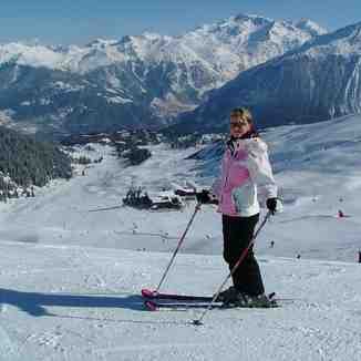 Sammy at Courchevel 1850