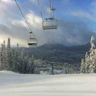 three days before opening, Mount Washington