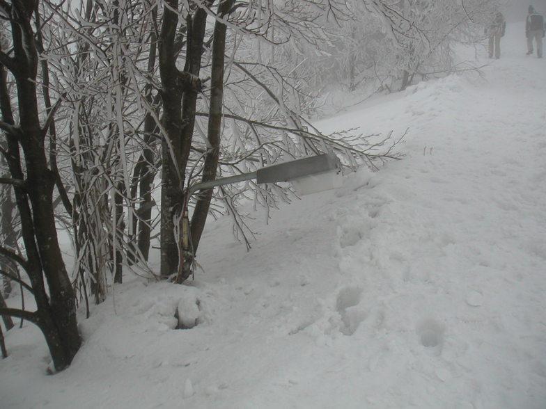 Pelion (Greece) 4m snow, Pilion
