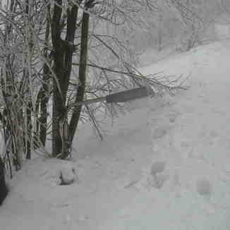 Pelion (Greece) 4m snow, Pilion