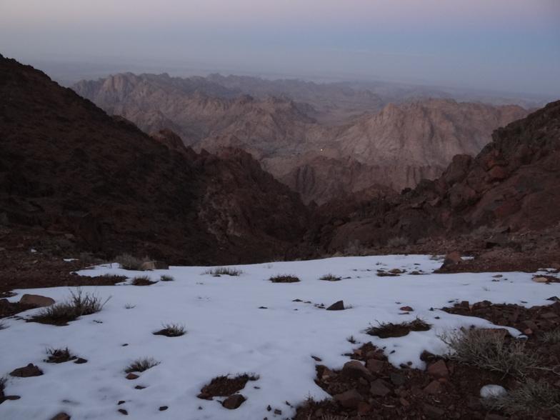 Snow up the Mountain, Jabal Katherina