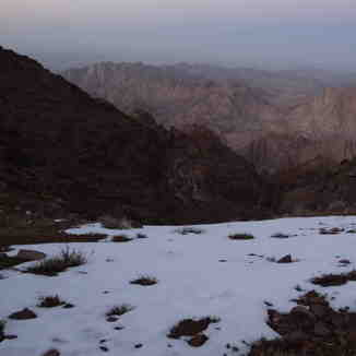 Snow up the Mountain, Jabal Katherina