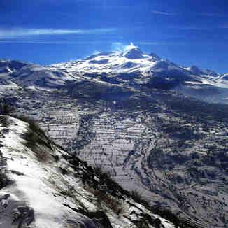 Mt.Erciyes 3917m from Mt. Ali, Erciyes Ski Resort