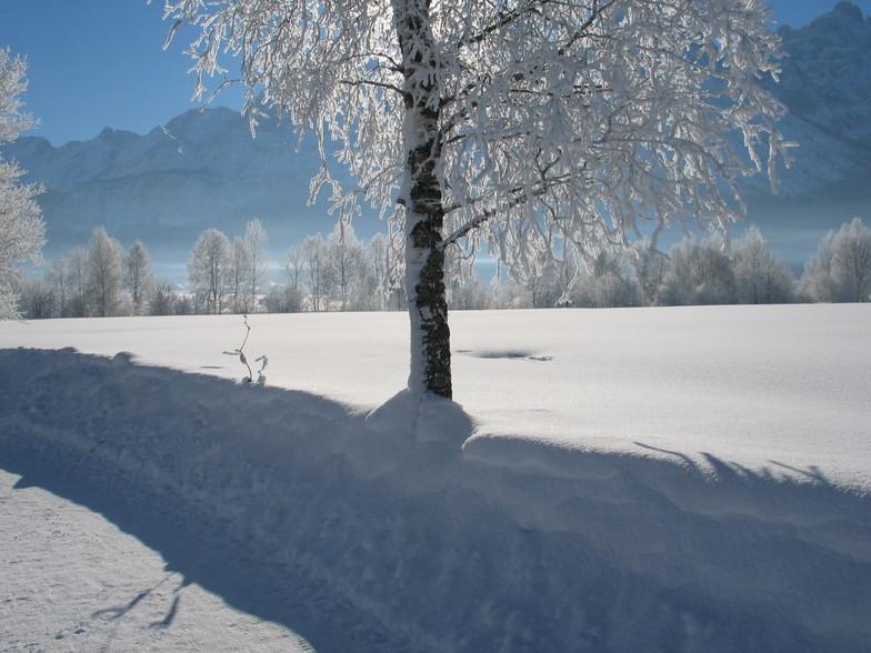 Lermoos snow