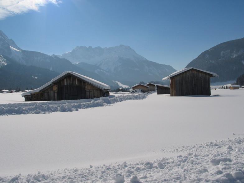Zugspitze arena, Garmisch-Partenkirchen-Zugspitze