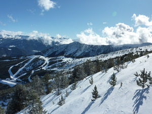 desde la silla, Vallnord-Pal photo