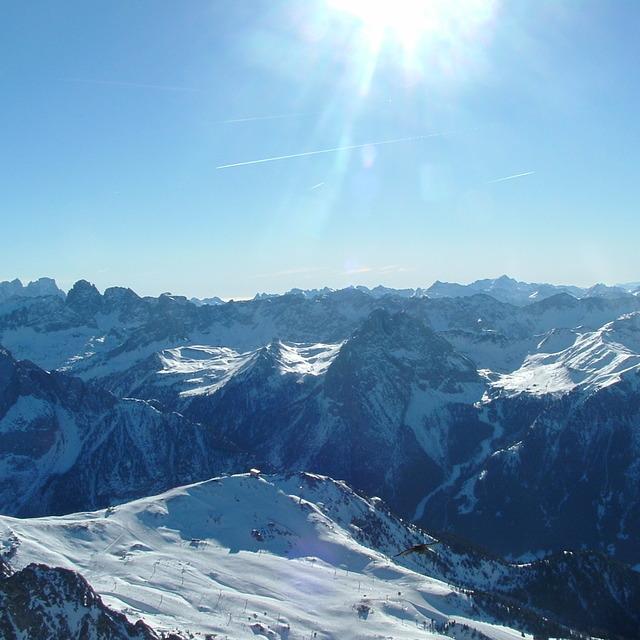 The Dolomites, Alba di Canazei