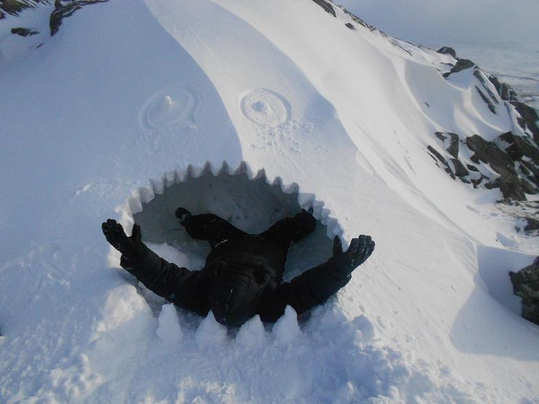 snow beast!, Snowdon