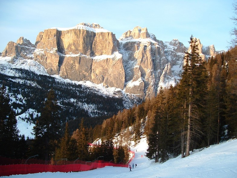 Sella Nevea snow
