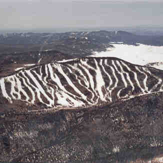 Aerial View, Pajarito Mountain Ski Area