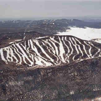 Aerial View, Pajarito Mountain Ski Area