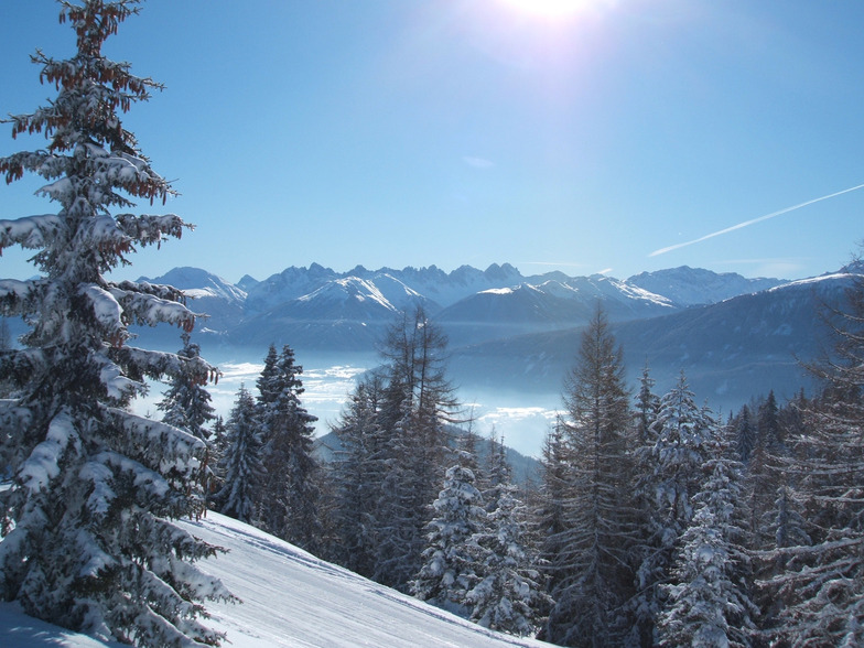 View from the Sonnenalm, Seefeld