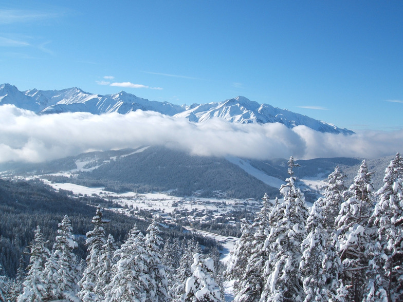 View of Reith and Gschwandtopf, Seefeld