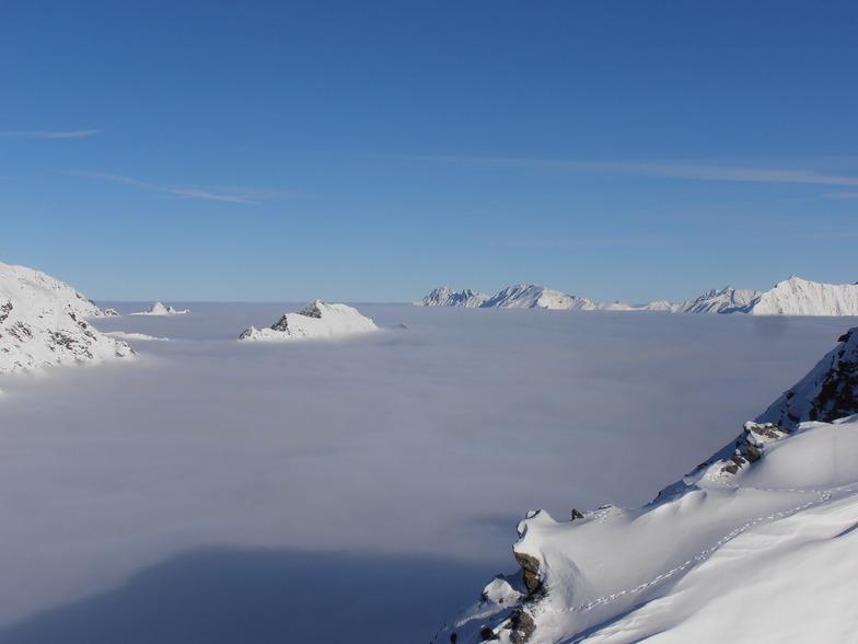 Above the clouds, Sölden