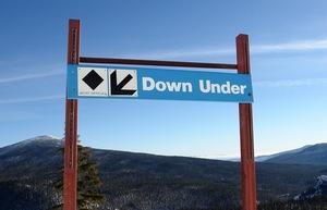Down Under, Willamette Pass photo