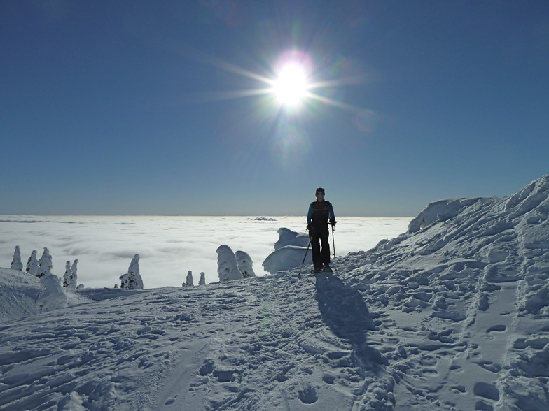 snowshoeing on Mt.Seymour, Mt Seymour