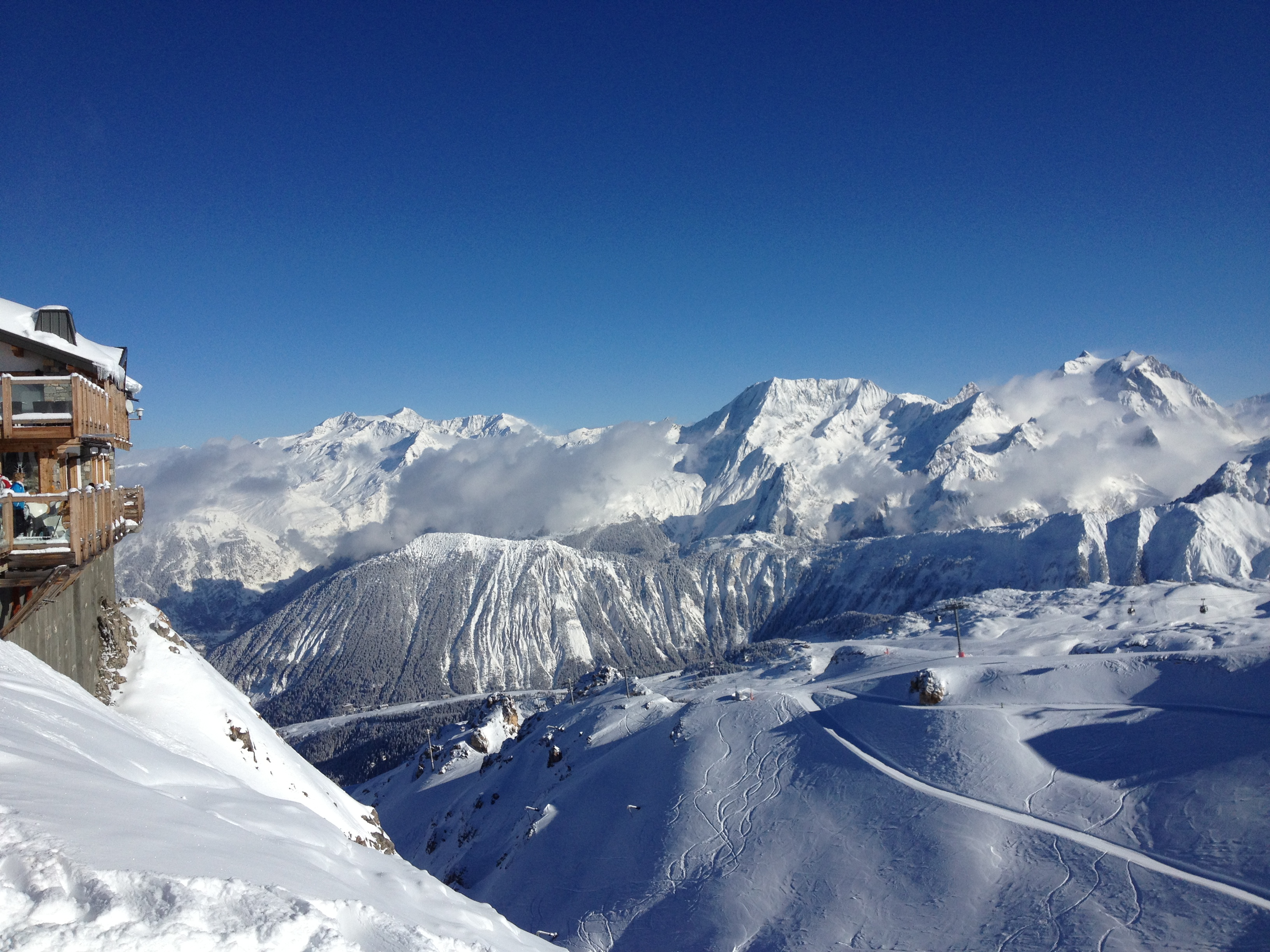 Morning View, Courchevel