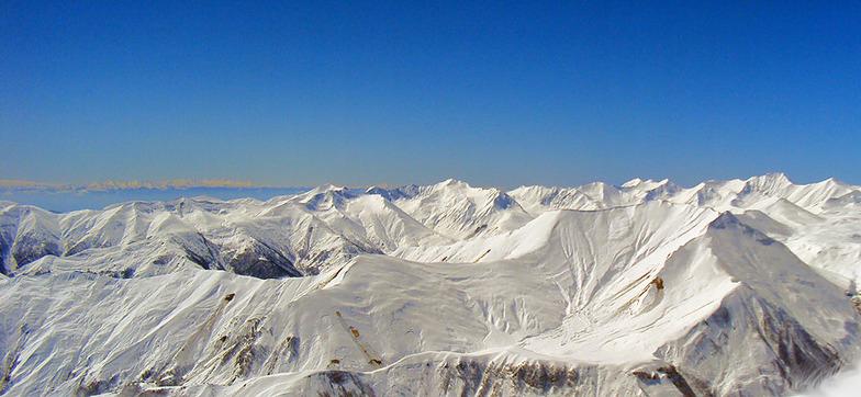 View from Sadzele, Gudauri