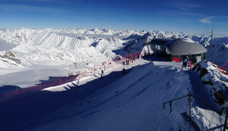 Pitztal 3440m, Pitztal Glacier