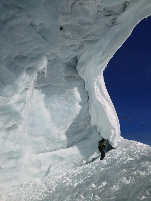 Tux Glacier, Hintertux
