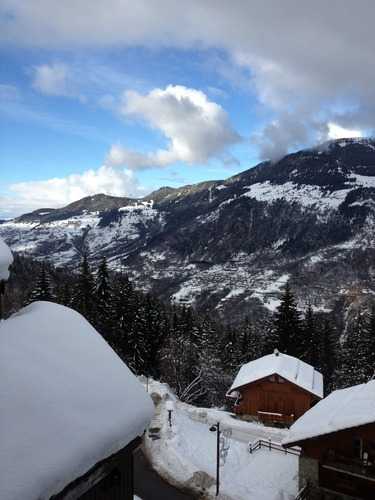 La Tania Ski Resort by: Andrew Evans