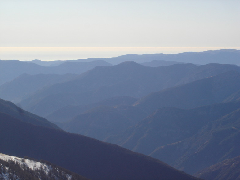 View from Mont Sistron, Isola 2000